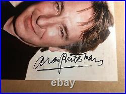 ALAN RICKMAN Harry Potter Genuine Authentic In-Person Signed 10x8 PHOTO UACC COA