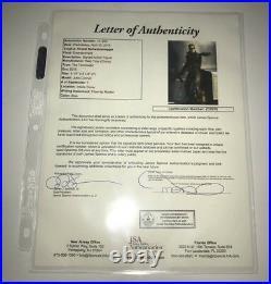ARNOLD SCHWARZENEGGER Signed TERMINATOR Figure IN PERSON Autograph JSA LOA COA