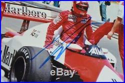 Alain Prost & Niki Lauda signed 20x30cm Autogramm / Autograph In Person 4