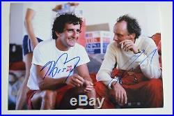 Alain Prost & Niki Lauda signed 20x30cm Autogramm / Autograph In Person 5
