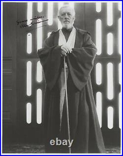 Alec Guinness In-Person Signed 8x10 Star Wars Photo Obi-Wan Kenobi JSA