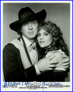 Amazing In-person Signed Photo By MADELINE KAHN & GENE WILDER