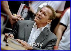 Arnold Schwarzenegger, Jesse Ventura 2X In-person Signed Photo, PREDATOR With COA