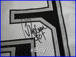 Authentic Autographed David Robinson Jersey Spurs Signed In Person, + COA
