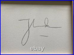 Autographed Thomas Kincade Everetts Cottage 16x20