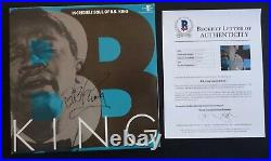 BB King IP Signed Autographed Incredible Soul Of Album LP Beckett Certified