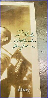 BENNY GOODMAN hand signed personal autograph circa 1938 on Photo