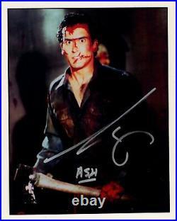 BRUCE CAMPBELL signed Autogramm 20x25cm EVIL DEAD in Person autograph COA ASH