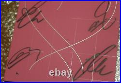 BTS Autographed Signed Map of the Soul PERSONA PROMO Album Boy With LUV CD RARE