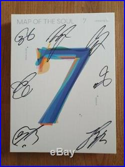BTS BANGTAN BOYS Skool Promo MAP OF THE SOUL Autographed Hand Signed Type C