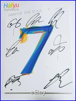 BTS MAP OF THE SOUL 7 Autographed(signed) Promo Album
