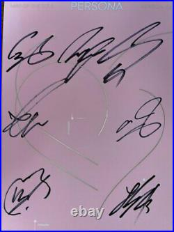 BTS MAP OF THE SOUL PERSONA Autographed Signed Album