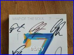 BTS Promo MAP OF THE SOUL album Autographed Hand Signed Type A