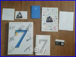 BTS Promo MAP OF THE SOUL album Autographed Hand Signed Type C