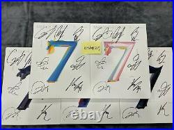 BTS autographed MAP OF THE SOUL 7 Album signed CD