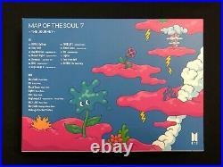 BTS autographed MAP OF THE SOUL 7 The Journey Japanese Album signed CD