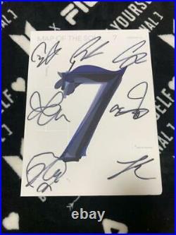BTS signed autographed CD Album MAP OF THE SOUL 7 no photo card Korean hip hop