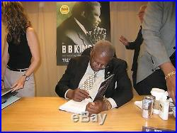 B. B. Bb King Signed Autographed Hardcover Book Treasures In Person Nyc Rare