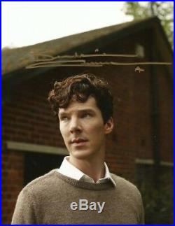 Benedict Cumberbatch ACTOR autograph, In-Person signed photo