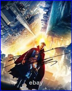 Benedict Cumberbatch AUTOGRAPH Dr Strange SIGNED IN PERSON 10x8 Photo OnlineCOA