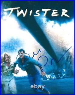 Bill Paxton signed 8x10 Photo. In Person. Titanic, Apollo 13, Aliens