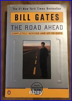Bill gates Signed The Road Ahead Includes Personalized Message