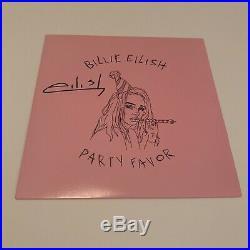 Billie Eilish Signed Party Favor 7 Vinyl In Person Autograph