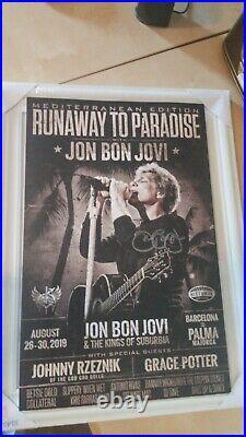 Bon Jovi hand signed original autograph in person