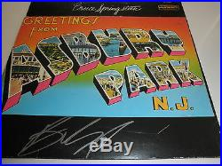 Bruce Springsteen Signed Lp Proof! Rare In Person Autograph Coa E Street Band