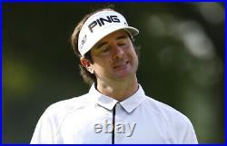 Bubba Watson autographed signed autograph PING golf personal model visor JSA COA