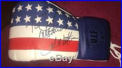 CARL WEATHERS Personalised Signed Boxing Glove APOLLO CREED in ROCKY COA