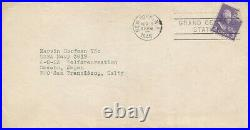 CAROLE LANDIS Original Vintage 1946 SIGNED AUTOGRAPHED Private / Personal Letter
