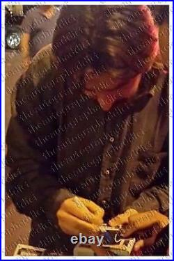 Christian Bale Signed 11X14 BATMAN Dark Knight IN PERSON Autograph PROOF JSA COA