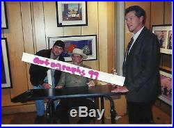 Chuck Jones Signed Hardback Book Proof Autographed In Person Coa