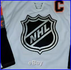 Connor McDavid Signed 2018 All Star Jersey Size XL In Person. JSA CERTIFIED