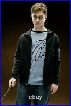 DANIEL RADCLIFFE signed Autogramm 20x30cm HARRY POTTER in Person autograph COA