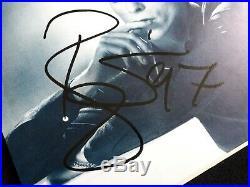 David Bowie Signed Autographed LP VINYL 45' UK IN PERSON Sweden 1997 Ziggy