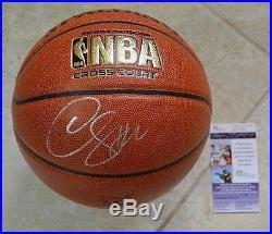 DeMar DeRozan In-Person Signed NBA Basketball with JSA COA #P17162 Toronto Raptors