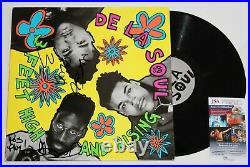De La Soul Band Signed 3 Feet High & Rising Vinyl Lp Record Album Auto +jsa Coa
