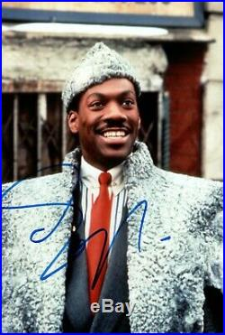 EDDIE MURPHY signed Autogramm 20x30cm COMING TO AMERICA In Person autograph COA