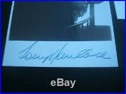 Early Tony Hancock Signed Photo & Personal Compliment Slip