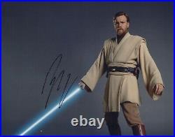 Ewan McGregor Photo Signed In Person Obi Wan Kenobi in Star Wars Films G842