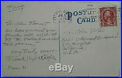 Frank Lloyd Wright Signed Twice Very Important Personal Letter To John Storer