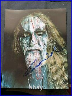 Gaahl Signed Autographed 8x10 Photo GORGOROTH Black Norwegian Metal IN PERSON