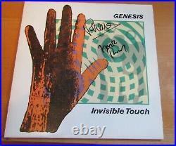 Genesis Phil Collins Rutherford Signed Vinyl LP Album In Person + Hologram COA