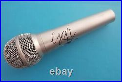 Geri Horner'Spice Girls', hand signed in person Microphone