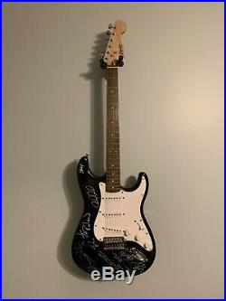 Goo Goo Dolls & Collective Soul Signed Guitar Autographed From Concert 2016