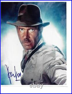 Harrison Ford Rare Hand Signed In Person Autographed Indiana Jones COA