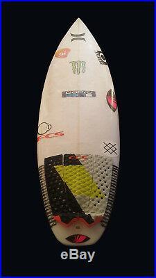Hurley Pro Filipe Toledo Personal Surfboard Signed Autographed