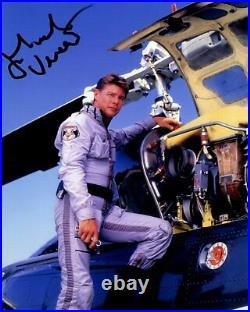 JAN MICHAEL VINCENT signed Autogramm 20x25cm AIRWOLF in Person autograph COA